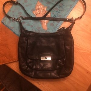 Coach Kristin Back Leather Crossbody Handbag